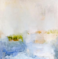 Happy Place  by Augusta Wilson Large Oil on Canvas Abstract Painting