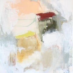 Hearth by Augusta Wilson Large Oil on Canvas Abstract Painting