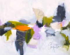 'Santa Cruz' Large Horizontal Abstract Painting