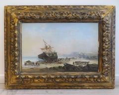 Boulogne sur Mer in France 1880