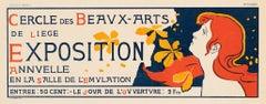 Cercle des Beaux-Arts de Liege Annual Exhibition by Auguste Donnay
