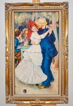 Original Figurative Oil Painting After Renoir DANCE AT BOUGIVAL