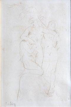 Les Ames du Purgatoire, by Auguste Rodin
