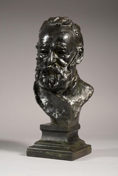 "Bust Of Victor Hugo ""To The Illustrious Master"""