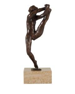 Dance Movement  B - Bronze cast Sculpture edition of 11 modern figure