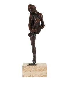 Dance Movement D - Bronze cast Sculpture edition of 11 modern figure