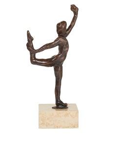 Dance Movement E - Bronze cast Sculpture edition of 11 modern figure