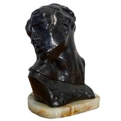 "Auguste Rodin ""Head of Lust"""