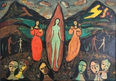Marian Appeal original oil painting