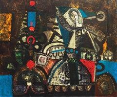 'Photo Color-Moiré', Spanish Surrealist, Museum of the City of Paris, Benezit