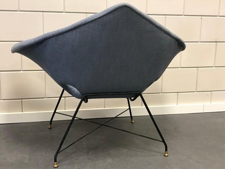 Mid-Century Modern Augusto Bozzi Armchair For Sale