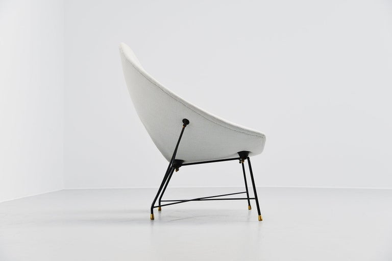 Mid-Century Modern Augusto Bozzi Cosmos Lounge Chair, Italy, 1954 For Sale