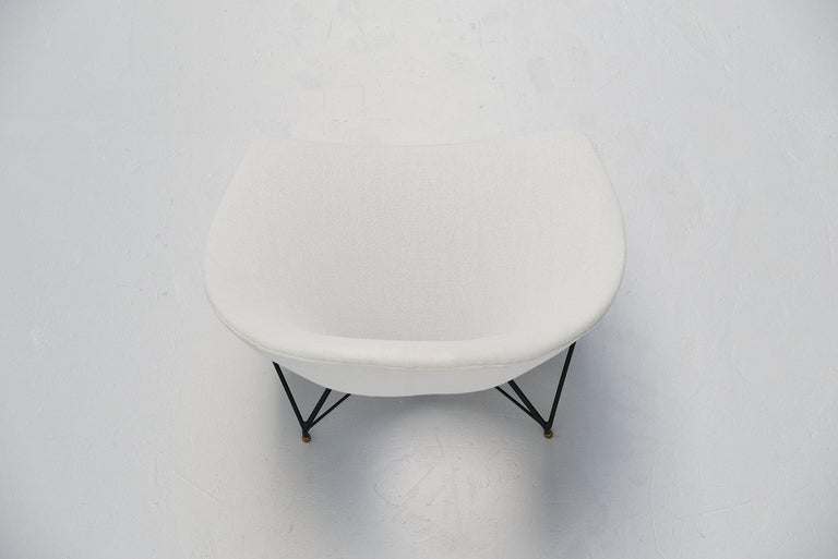 Italian Augusto Bozzi Cosmos Lounge Chair, Italy, 1954 For Sale