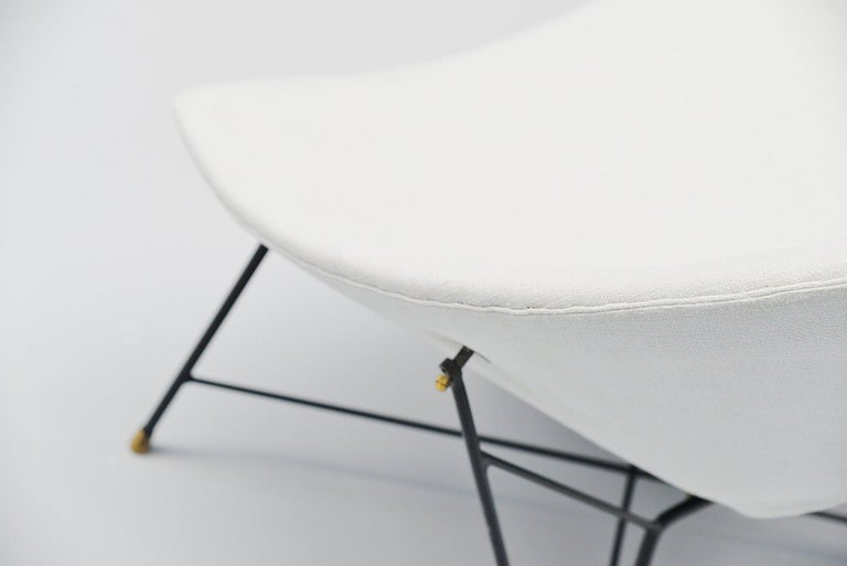 Augusto Bozzi Cosmos Lounge Chair, Italy, 1954 In Good Condition For Sale In Roosendaal, Noord Brabant