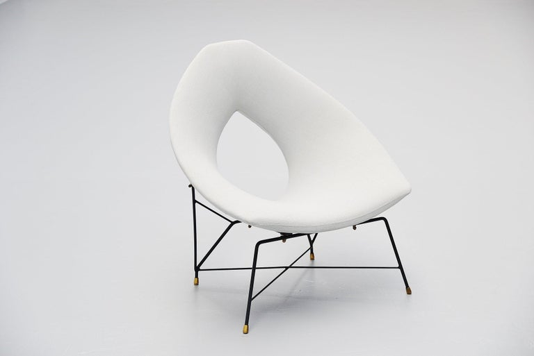 Augusto Bozzi Cosmos Lounge Chair, Italy, 1954 For Sale 1