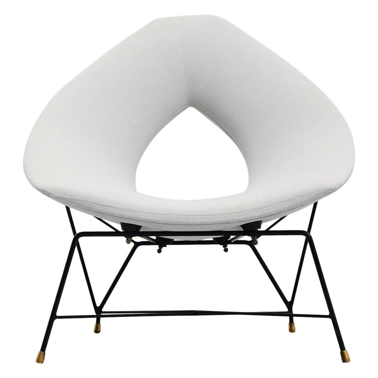 Augusto Bozzi Cosmos Lounge Chair, Italy, 1954 For Sale