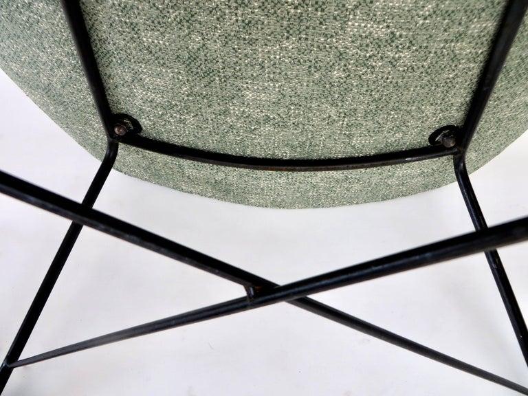 Augusto Bozzi for Saporiti Italia Pair of Italian Lounge Chairs  For Sale 10