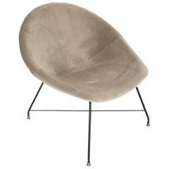 Augusto Bozzi for Saporiti Italia Single Italian Lounge Chair