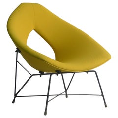 "Augusto Bozzi for Saporitti, Italy circa 1954, ""Cosmos"" Lounge Chair"