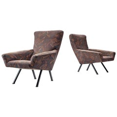 Augusto Magnaghi and Mario Terzaghi Pair of Lounge Chairs