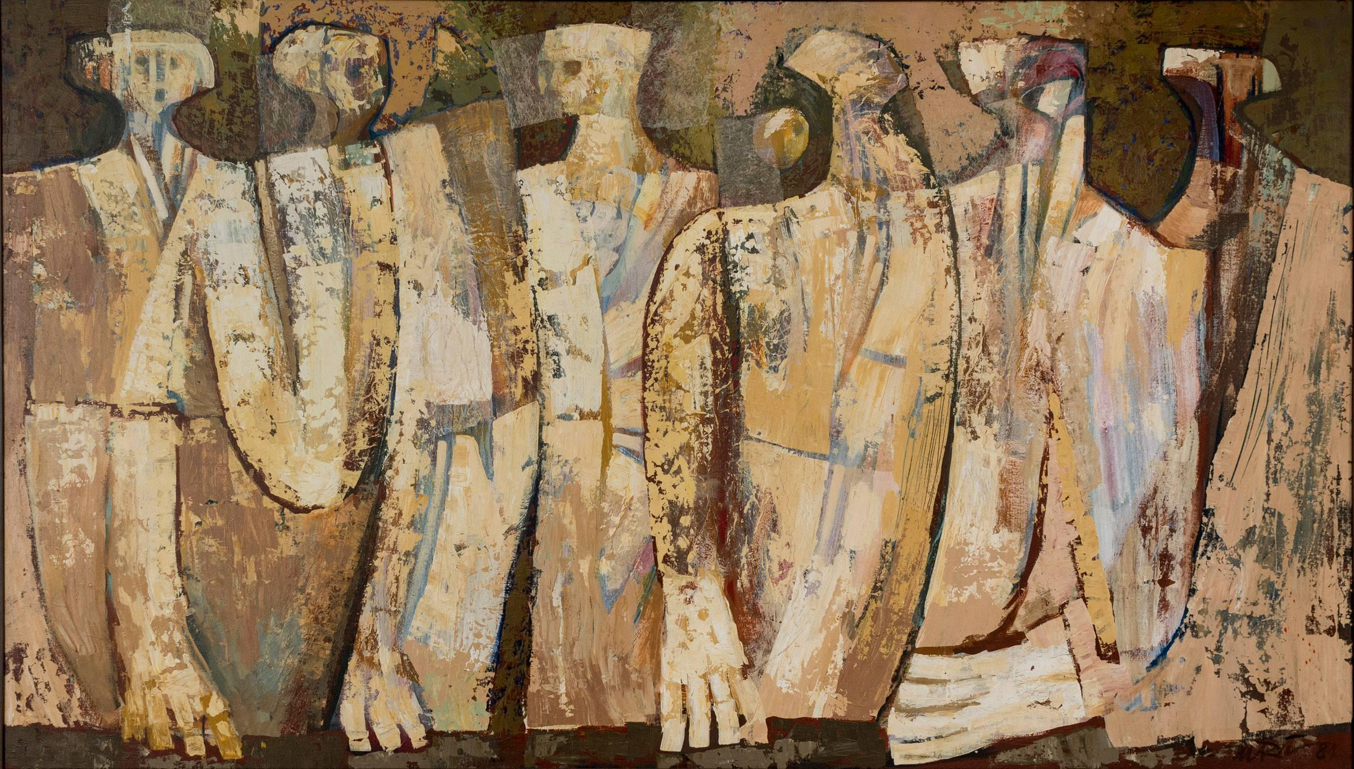 895acd62bd0 Augusto Marin - El jurado - Puerto Rican Art