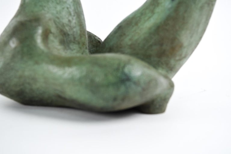 Augusto Ortega Escobedo Bronze Sculpture For Sale 3