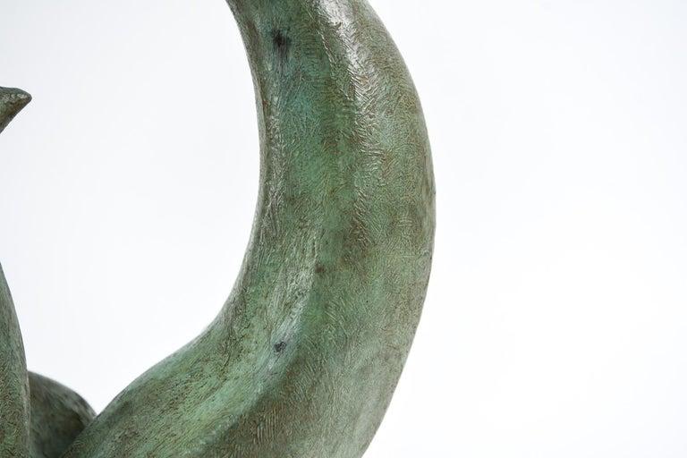 Augusto Ortega Escobedo Bronze Sculpture For Sale 4