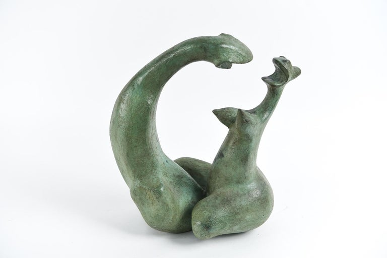 Born in Mexico City in 1915 Augusto Ortega Escobedo (1915-1995) dabbled in music, painting and even spent time as a taxi driver. Starting in 1957 he devoted himself to sculpture. He was represented by Galeria Tasende in the 1960s, one of the most