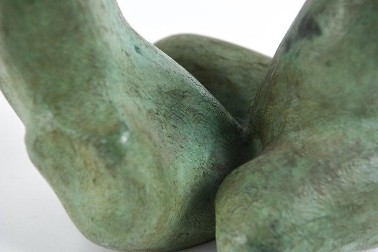 Mexican Augusto Ortega Escobedo Bronze Sculpture For Sale