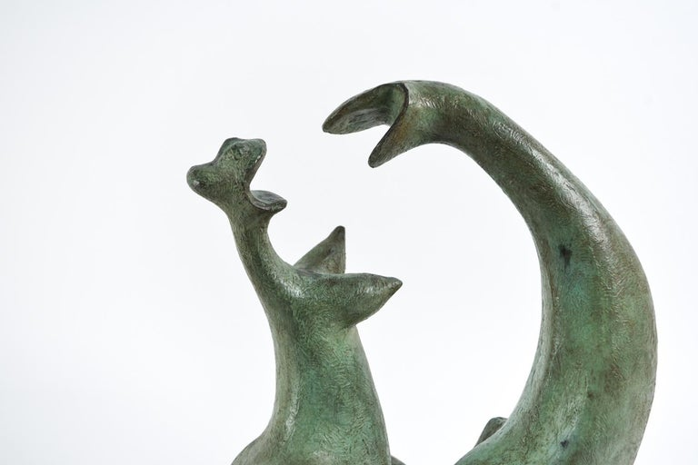 Augusto Ortega Escobedo Bronze Sculpture For Sale 1