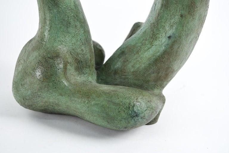 Augusto Ortega Escobedo Bronze Sculpture For Sale 2