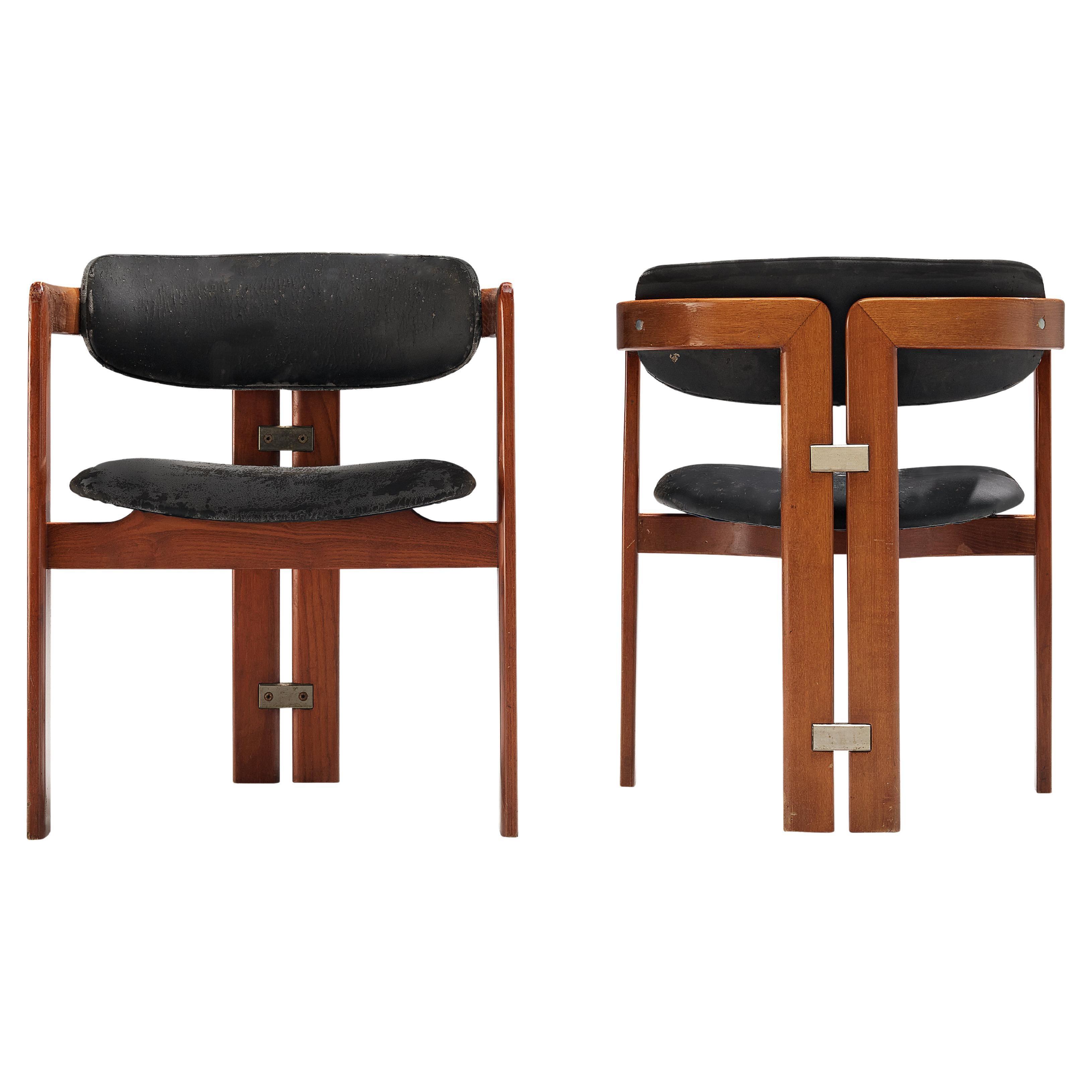 Augusto Savini for Pozzi 'Pamplona' Dining Chairs
