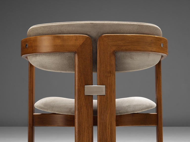 Mid-Century Modern Augusto Savini for Pozzi Set of Six 'Pamplona' Dining Chairs For Sale