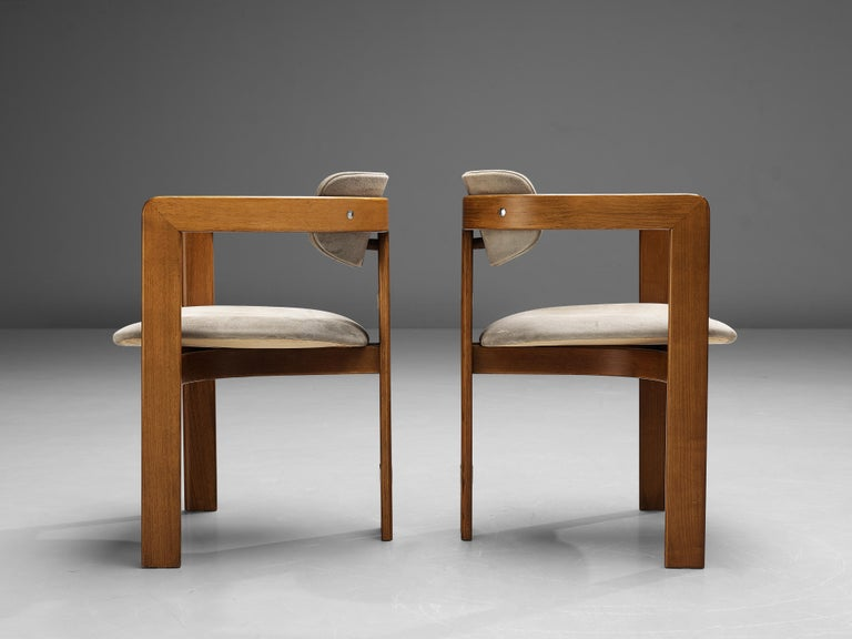 Augusto Savini for Pozzi Set of Six 'Pamplona' Dining Chairs For Sale 2
