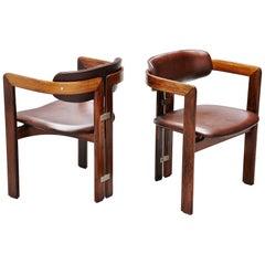 Augusto Savini Pamplona Chairs Pozzi, Italy, 1965