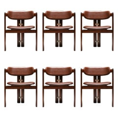 Augusto Savini 'Pamplona' Chairs, Set of Six
