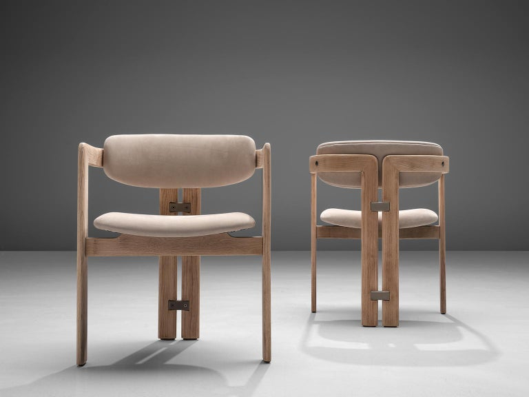 Italian Augusto Savini Set of Eight Customized 'Pamplona' Chairs For Sale