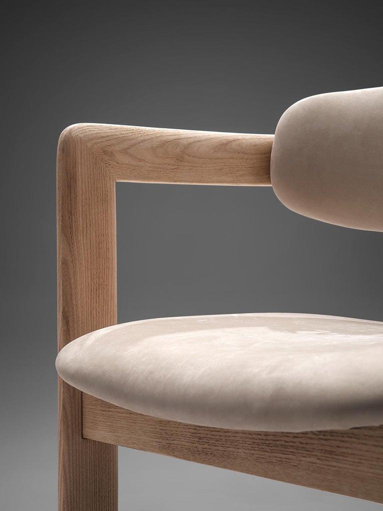 Metal Augusto Savini Set of Eight Customized 'Pamplona' Chairs For Sale