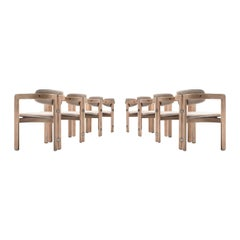 Augusto Savini Set of Eight Customized 'Pamplona' Chairs
