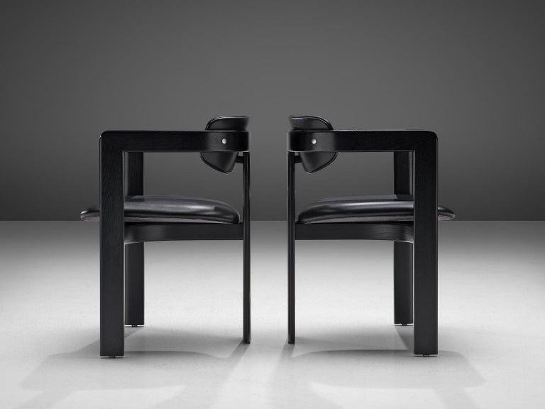 Mid-20th Century Augusto Savini Set of Eight 'Pamplona' Chairs For Sale