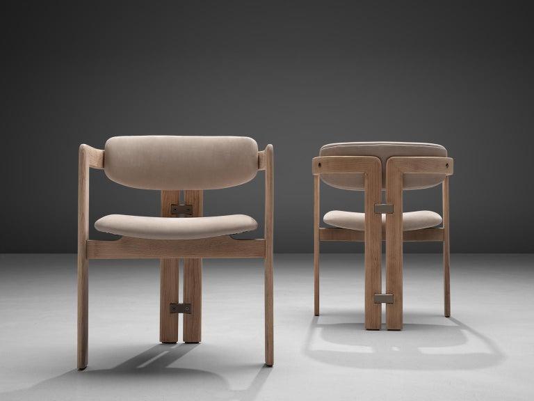 Italian Augusto Savini Set of Four Customized 'Pamplona' Chairs For Sale