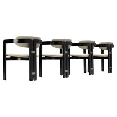 Augusto Savini Set of Four 'Pamplona' Dining Chairs