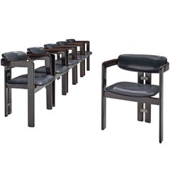 Augusto Savini Set of Six 'Pamplona' Chairs