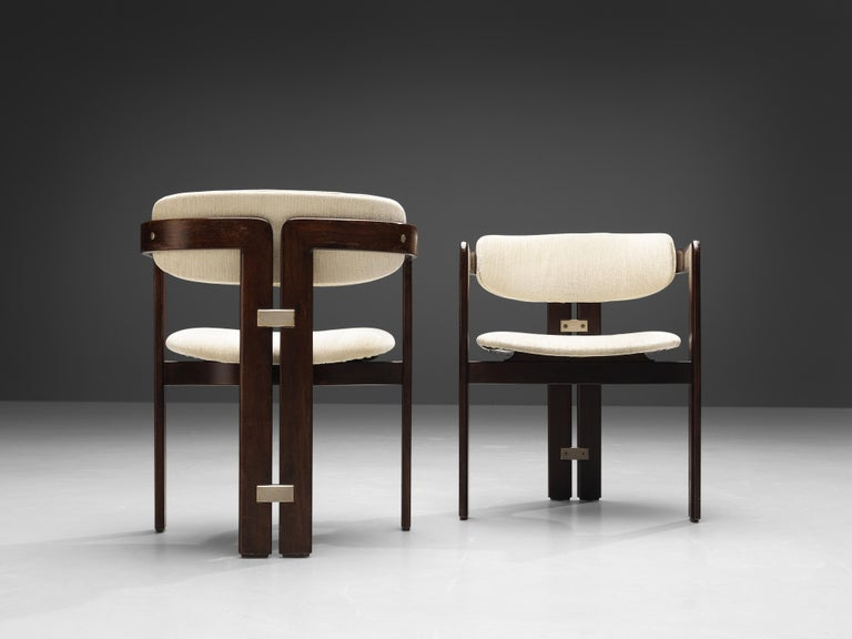Augusto Savini Set of Six 'Pamplona' Dining Chairs In Good Condition For Sale In Waalwijk, NL