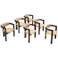 Augusto Savini Set of Six 'Pamplona' Dining Chairs