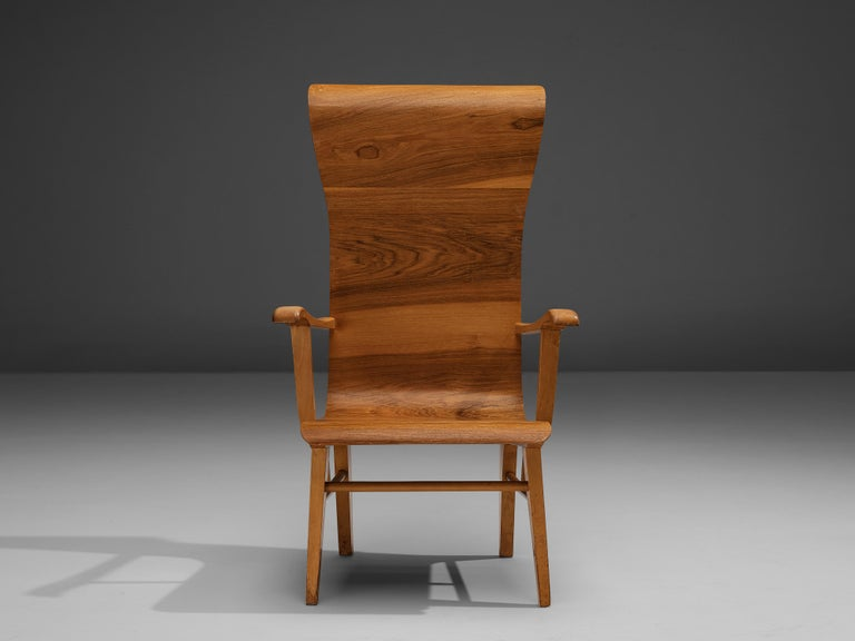 Auke Komter Very Rare Armchair for Metz & Co For Sale 3