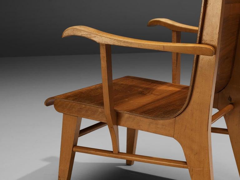 Mid-Century Modern Auke Komter Very Rare Armchair for Metz & Co For Sale