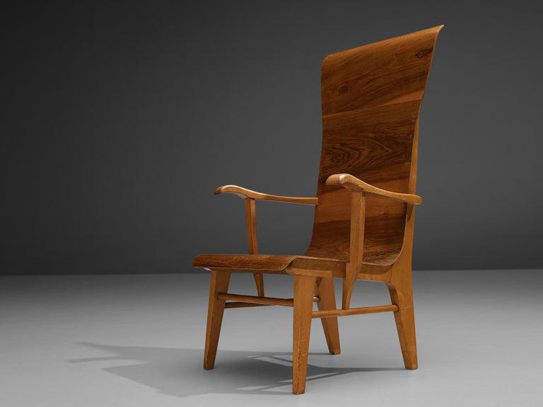 Dutch Auke Komter Very Rare Armchair for Metz & Co For Sale