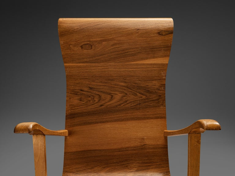 Auke Komter Very Rare Armchair for Metz & Co For Sale 1