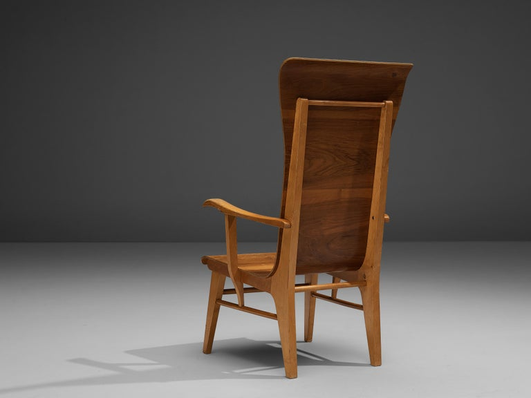 Auke Komter Very Rare Armchair for Metz & Co For Sale 2